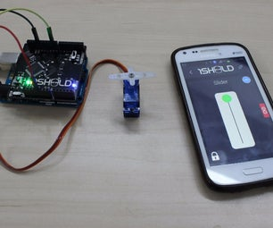 Control Servo Motor Using 1Sheeld