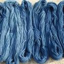 Ancient natural blue dye