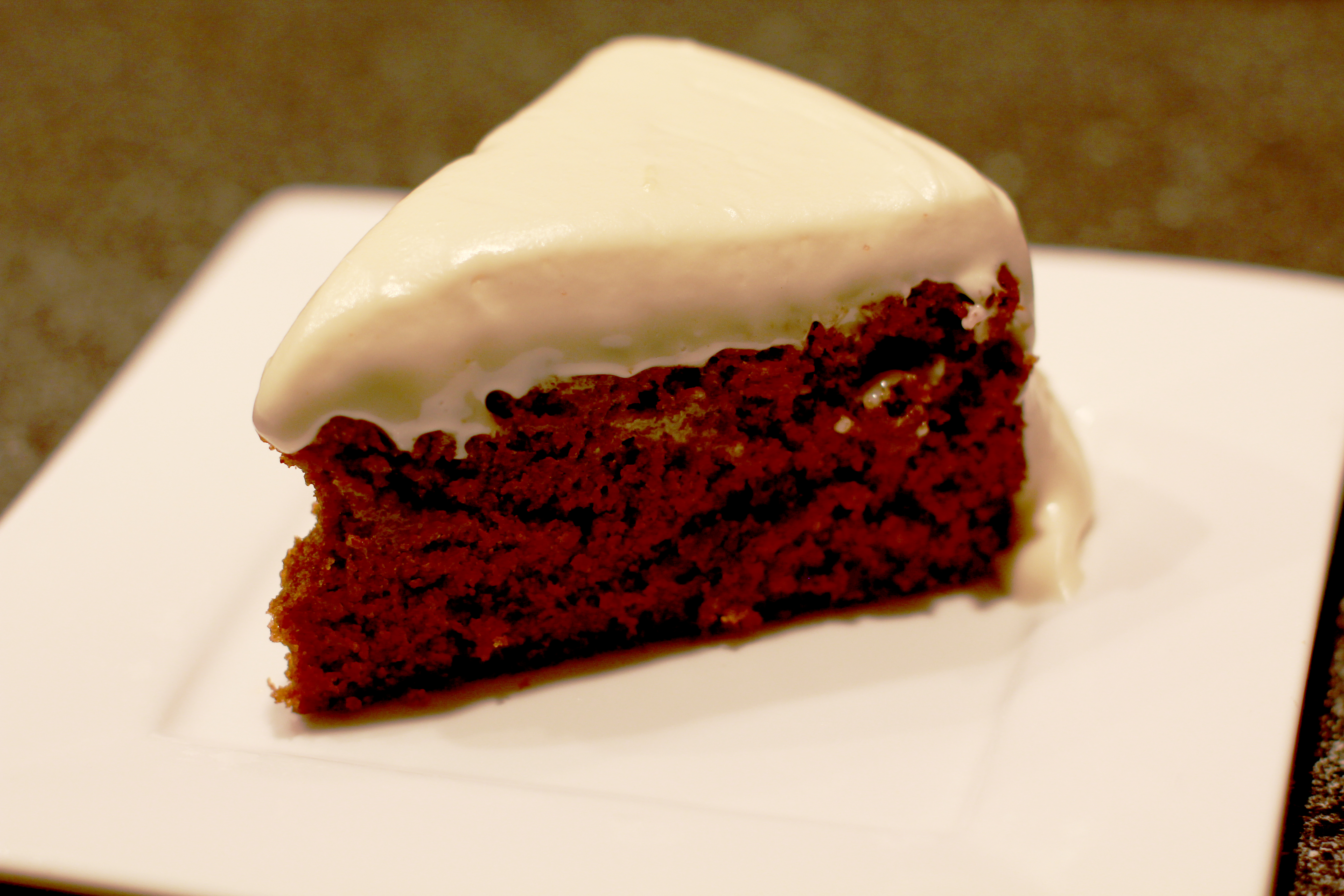 Gingerbread Cake with Cream Cheese Buttercream
