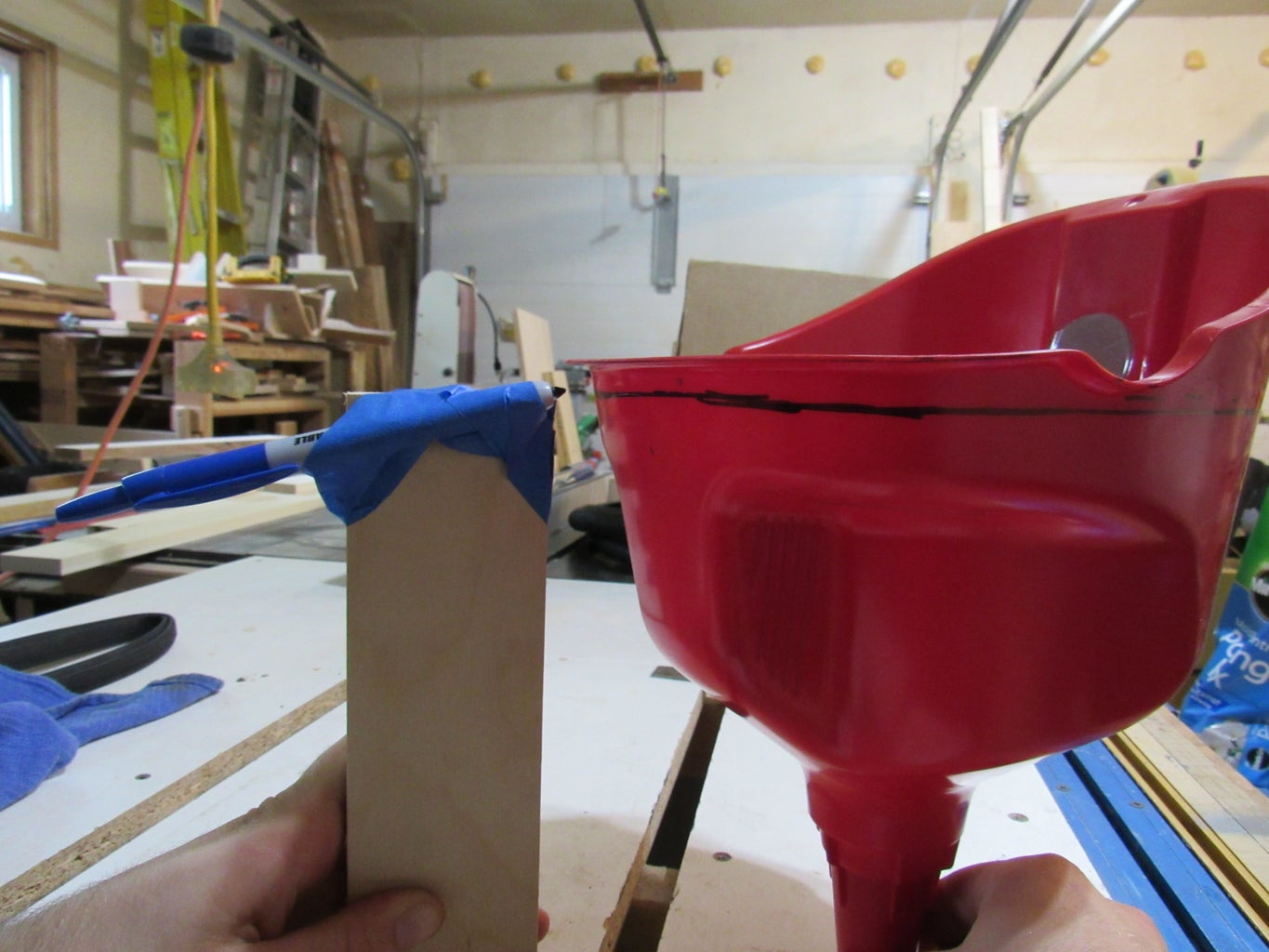 Construct and Install the Skittle Funnel