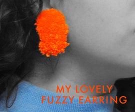 The Best Fuzzy Earring