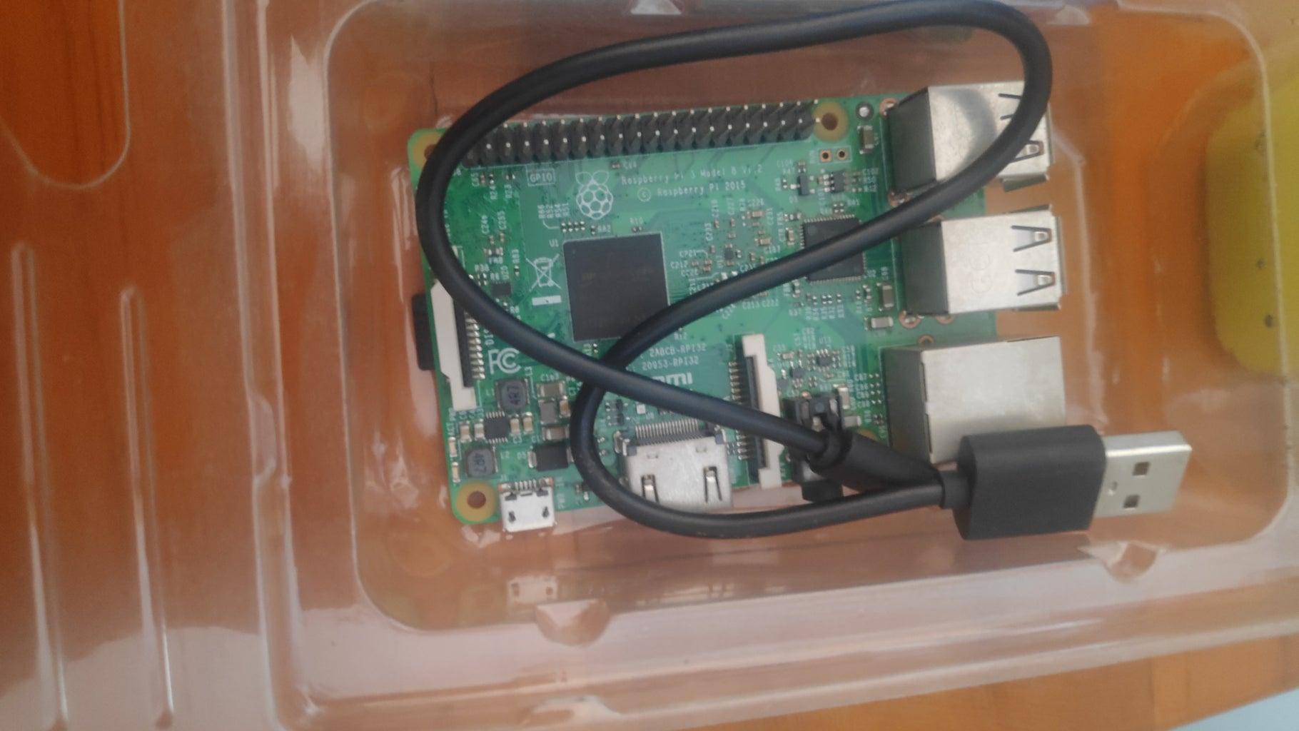 Arranging Raspberry Pi and Arduino