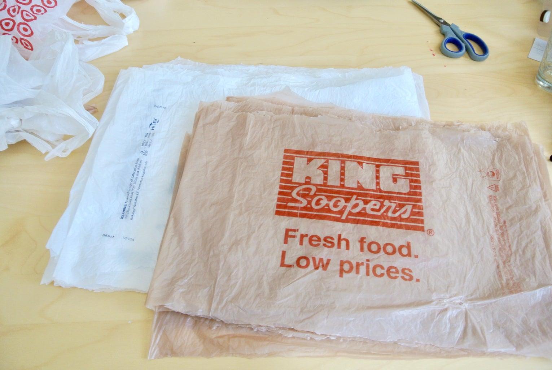 Cut Bags Into Sheets