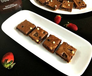 Double Chocolate Brownies With Crust