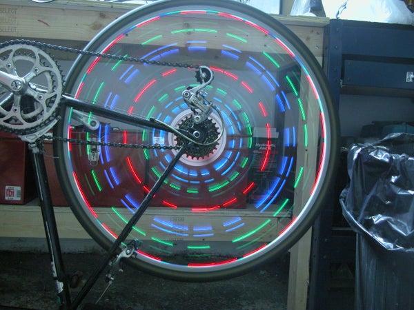 Ghetto Spoke POV Lights