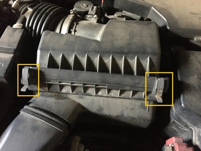 Locating and Changing the Air Filter