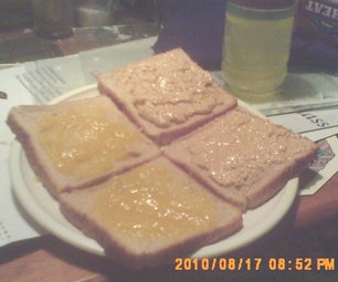 Homemade PB&J.