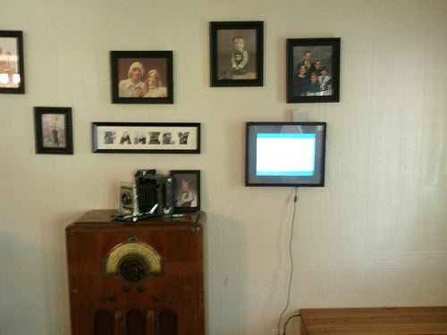 Dell Laptop Into Digital Photo Frame