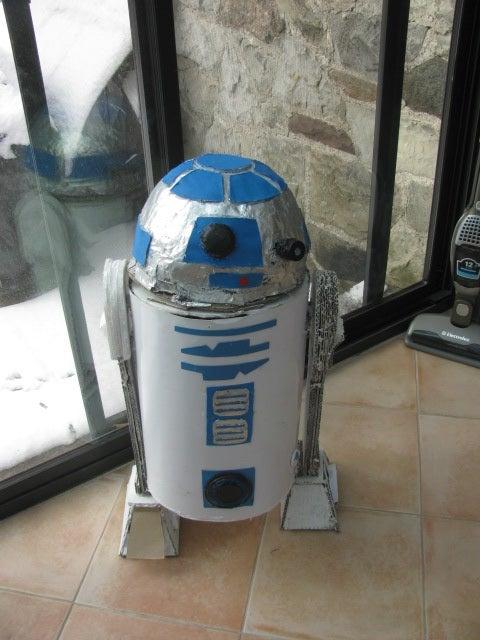 Homemade R2D2