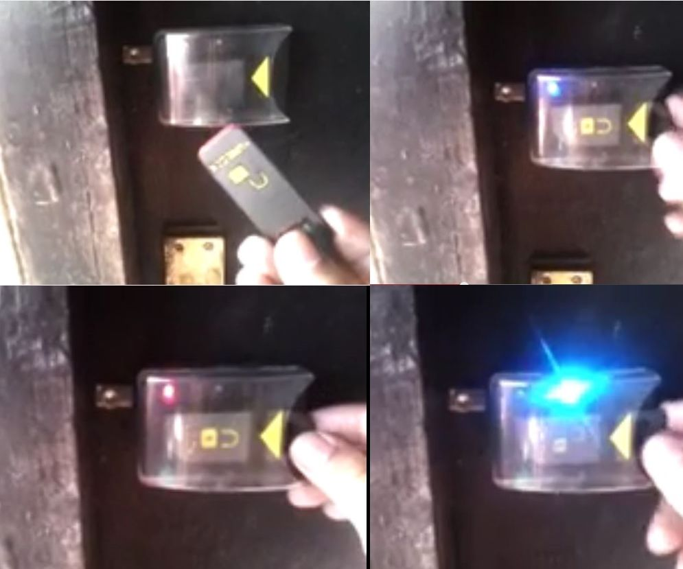 D.I.Y Card Electric door lock