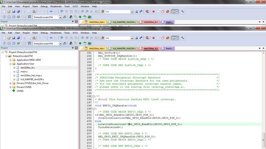 Write Code in STM32L4xx_it.c File in Keil