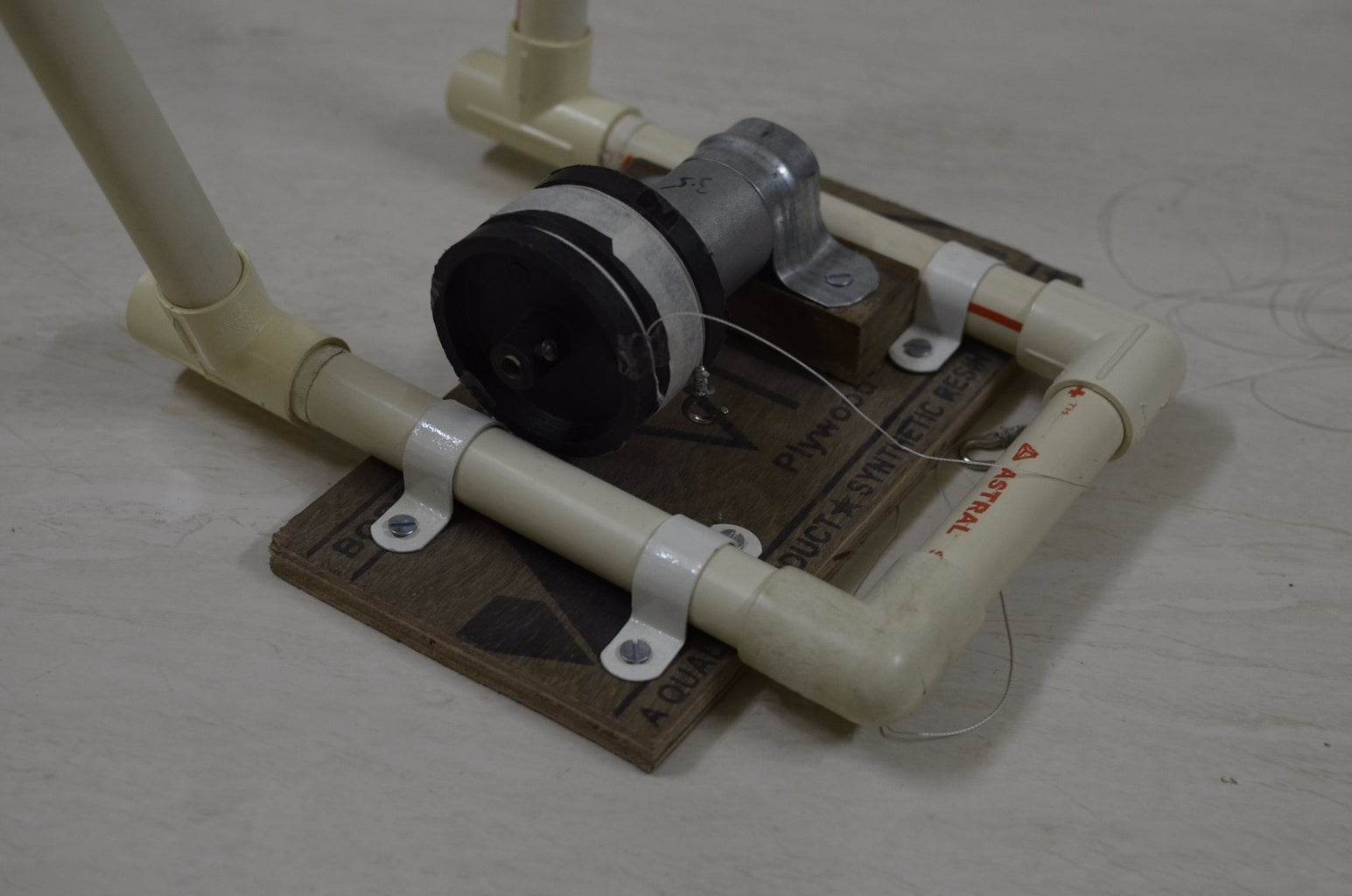 Platform for Arduino Circuit and Motor