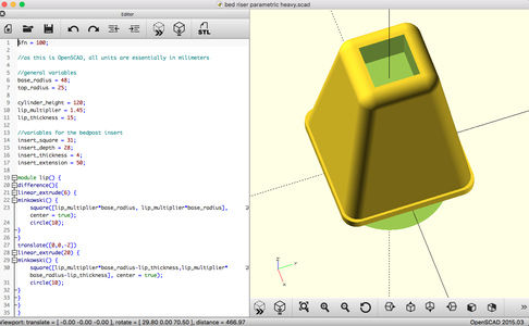 Get Oriented in OpenSCAD, and Start Changing Some Numbers!