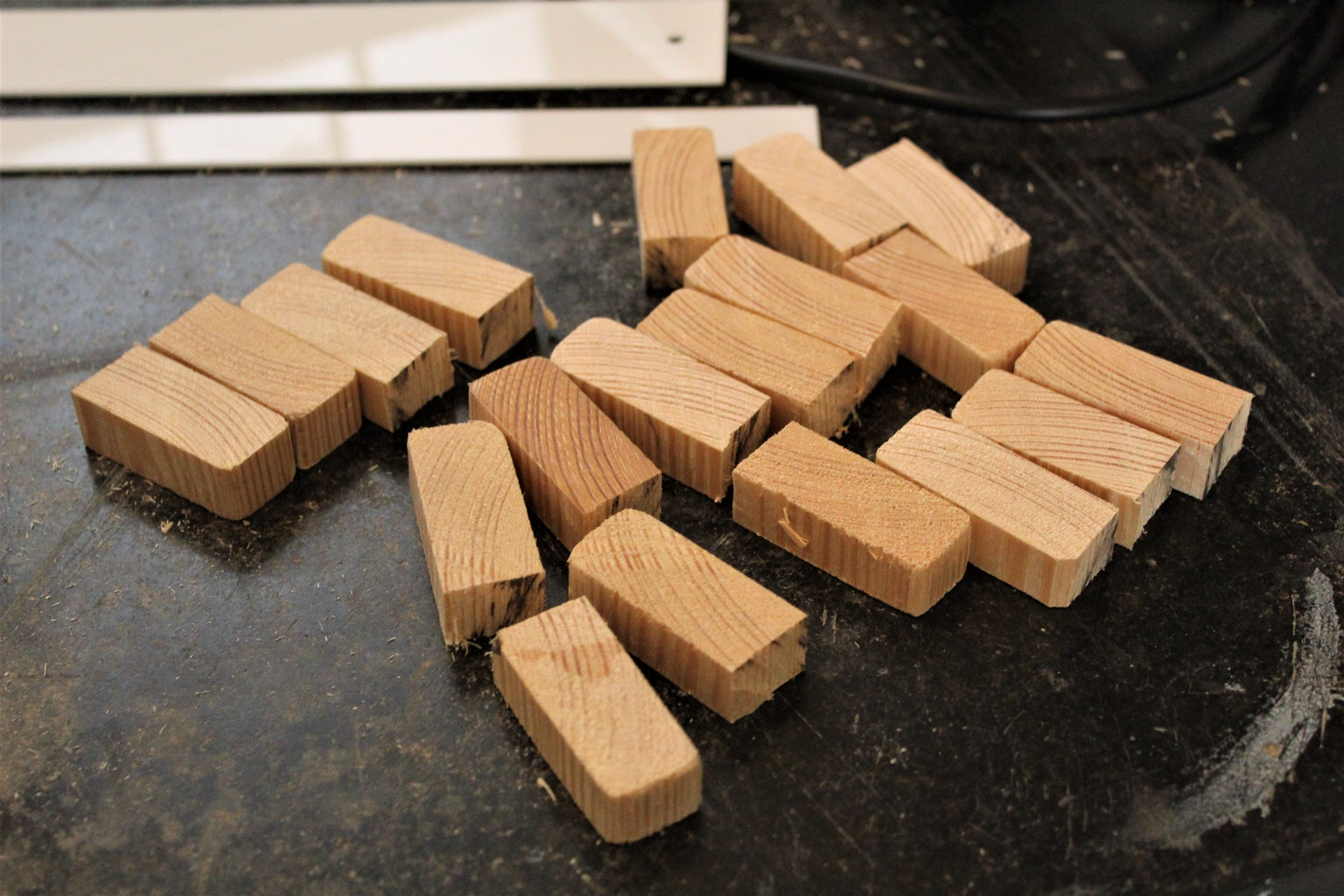 Cutting Wooden Spacers
