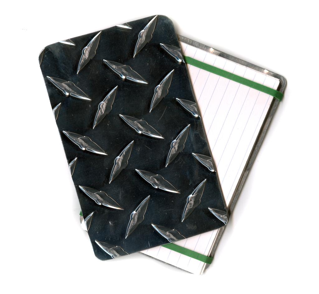 Diamond Plate Note Pad
