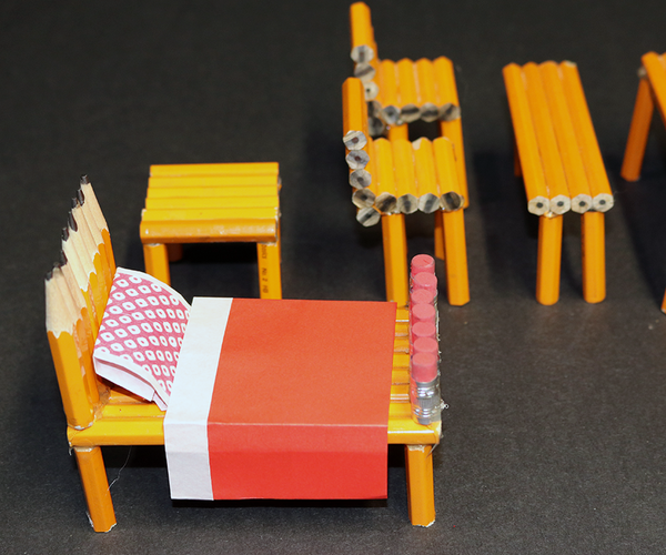 Turn an Ordinary Pencil Into Home Furniture!
