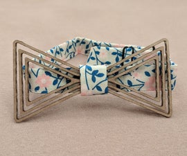 Quick Outfit Fix - Cardboard Bow Tie
