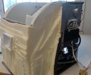 Restore an Old Burned Ice Maker.