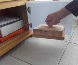 Hidden Box With Secret Opening Mechanism