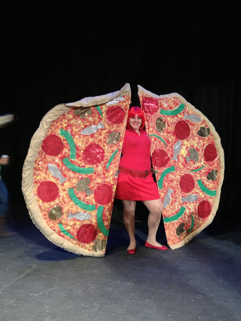 """Pizza """"Wings"""" Costume"""