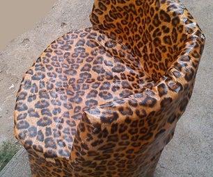 Cardboard Chair -  Leppard