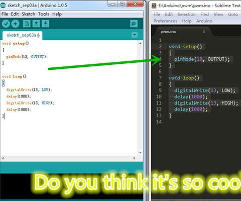 Use Sublime Text 2 to Replace Arduino IDE