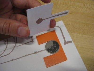 Paper Cut and Folded or Inserted Holder
