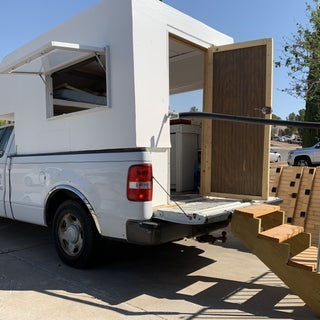 Cab-over Camper for Pickup