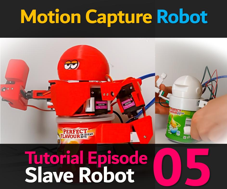 8 AXIS HUMANOID (Slave) ROBOT (HUMANOID ROBOT EP 05)