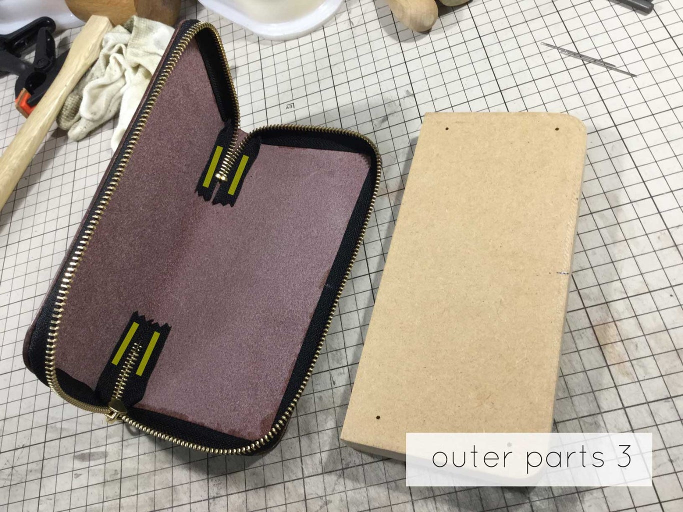 Outer Parts Assembly 1~4