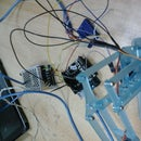 Controlling MeArm Using Mobile Application - Arduino and OneSheeld