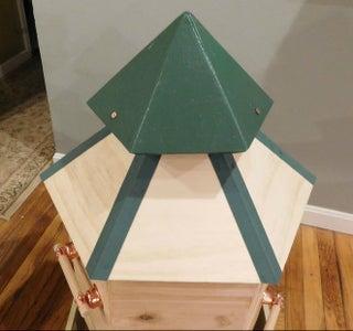 Hexagonal Beehive Boxes, Warre Style