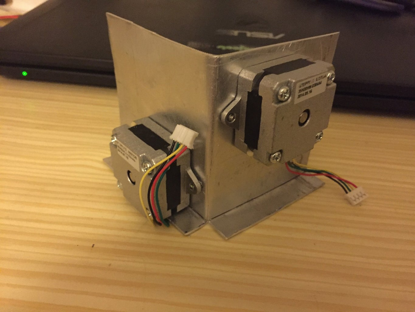 Mounting Steppers