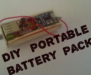 D.I.Y. Portable Battery Pack