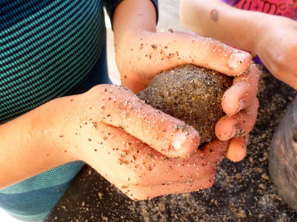 Moulage en sable