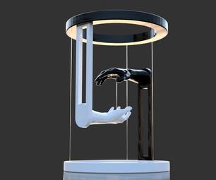 Magic Hands - Tensegrity - 3D Printed