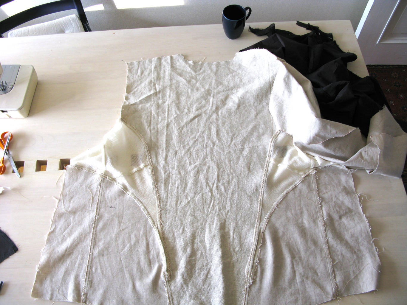 Sewing the Jacket