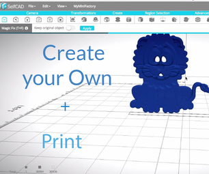 How to Convert an Image Into a 3D Shape Using SelfCAD's Image Generator