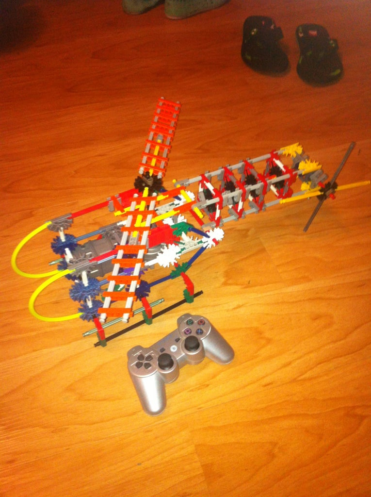 Knex Helicopter (with Motor)