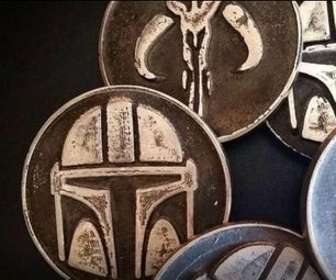 Coin Making With Wooden Molds