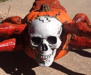 Making a Scorpion Pumpkin Monster (Scorpunkion)