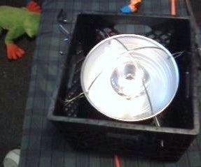 Silent Dorm Heater 250 Watt