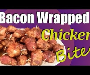 Bacon Wrapped Chicken Bites ~ You'll LOVE These!
