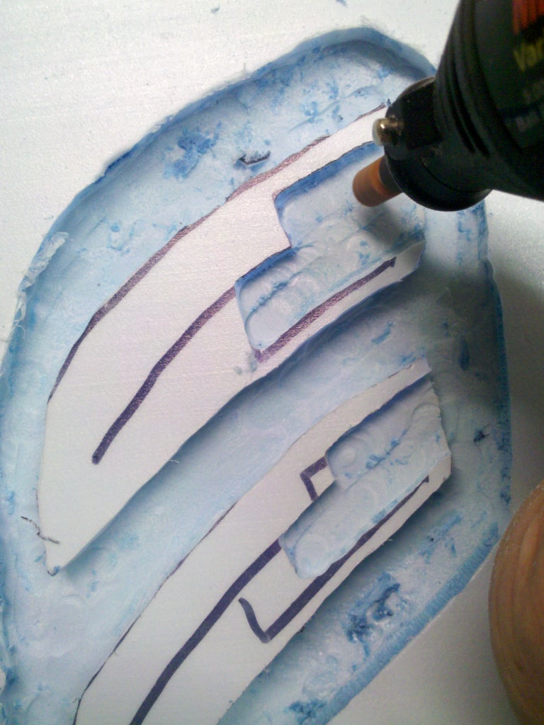 Cutting Sanding and Detailing Your Mold
