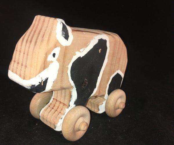 How to Make a Wooden Toy Panda