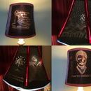 "Personalized ""Geeky"" Lampshade From Cardboard"