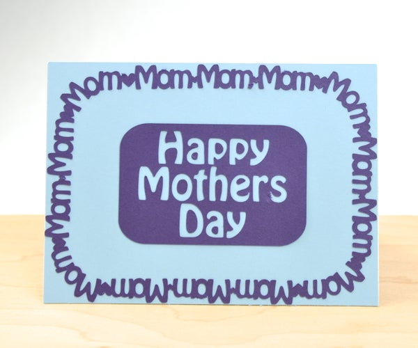 Mom Border Mother's Day Card