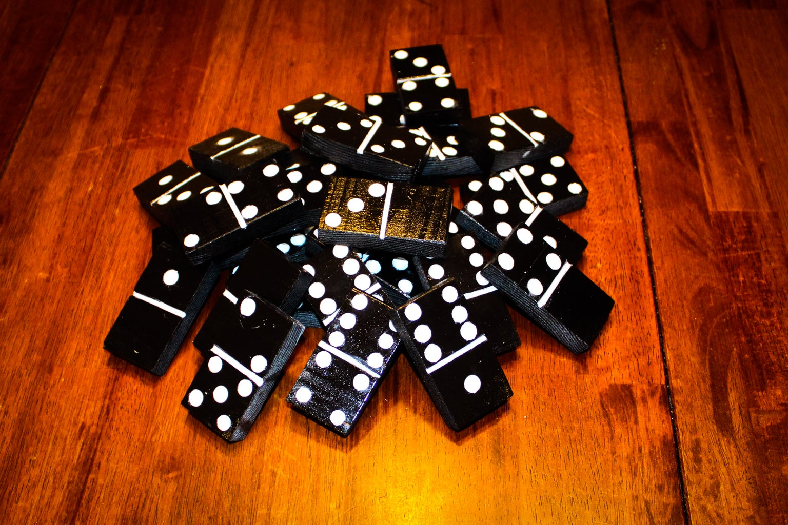 Finished Dominoes - Large Versions