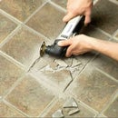 Removing Broken Floor Tile