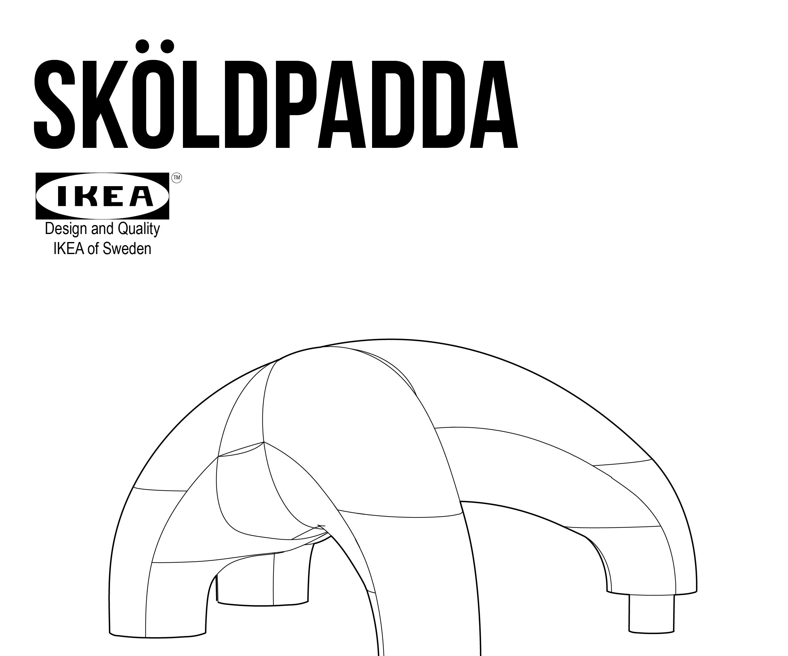 IKEA SKOLDPADDA ASSEMBLY INSTRUCTIONS